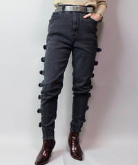 Vintage   Belt Denim Pants