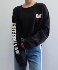 VINTAGE   CAT LONG TSHIRT