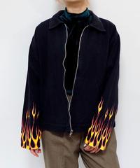 Vintage   Fire Pattern  Jacket