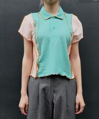 Frill line Poloshirt