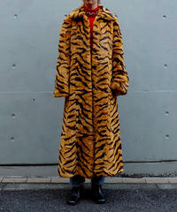 Vintage   Tiger Fake Fur Coat