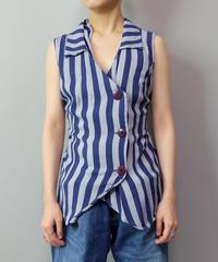 Vintage   Stripe Design Tops