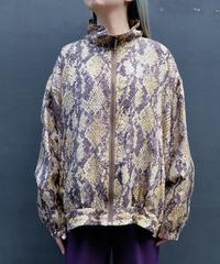 Vintage  Python Nylon Jacket