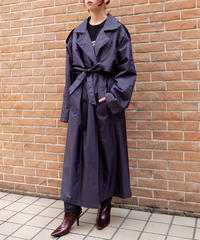 Vintage   Shiny Bigsize Trench Coat