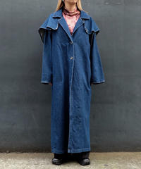 Vintage   Design Denim Coat
