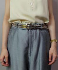 Vintage   Clear Belt
