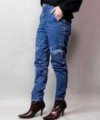 Vintage   Design Denim Pants