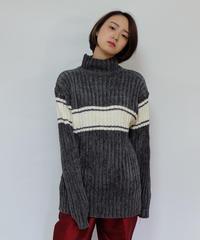 Vintage   Line Rib Knit