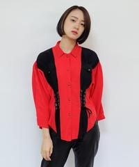 Vintage   Lace Up  Shirt