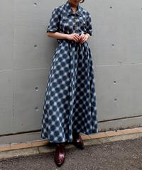 Vintage   Check Onepice