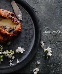 45サイズ:アンティークなグレー&ニュアンスホワイト grandma's kitchen