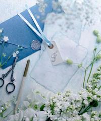 45サイズ:サムシングブルー「花香」を感じる5種の淡い色のスタイリングボード