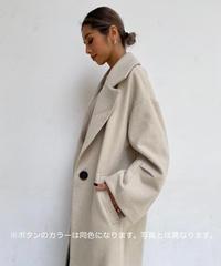 kersey long coat「1button」
