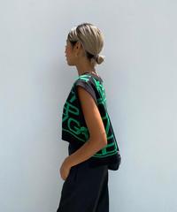 knit vest「EKMY」#810029
