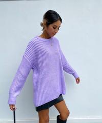 chunky knit「vivid」#72832