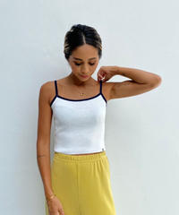 knit camisole「piping」#816