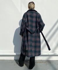 tartan check coat「oxford」#1081