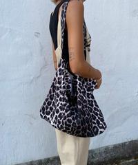 leopard square tote#033