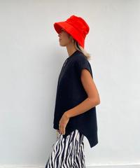 knit vest「plain」#8227