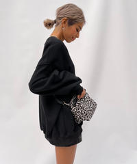 leopard bag 「box」#10886