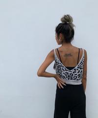 leopardキャミ
