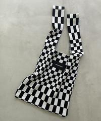 【10/22以降発送】knit tote「block」#35