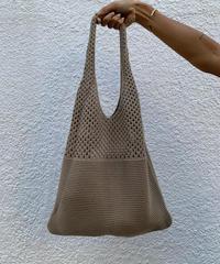 knitメッシュトートバッグ