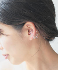 Acryl ear cuff kirakira
