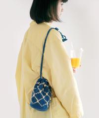編み込みチュールバッグのkit