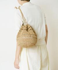 かぎ針編みの巾着バッグのキット