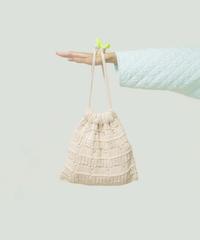 色づかいの編み小物 巾着バッグの糸セット