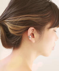 koro pearl ear cuff