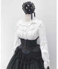 Sheglit/シェグリット Empressレースコルセット (黒×黒レース)