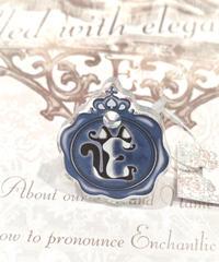 Enchantlic Enchantilly/アンシャンテリックアンシャンテリー Sealing  Cat  Ring ハチワレ(Dolled up Ring)