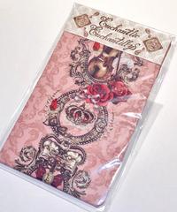 Enchantlic EnchantilIy/アンシャンテリックアンシャンテリー ヴァイオリンと美しい音符オーバーニーソックス(ローズピンク)