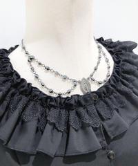 Sheglit/シェグリット Celestialショートネックレス (ブラック)