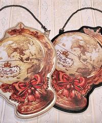 Enchantlic EnchantilIy/アンシャンテリックアンシャンテリー Enchantilly地球儀 パスケース(ゴールド)