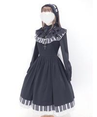 Estryllia Enhillia / 「コレアのメロディー」ドレス(ブラック)Mサイズ