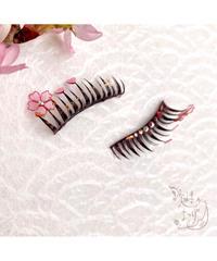 実柚季のまつげ 桜の花(上つけまつげ)