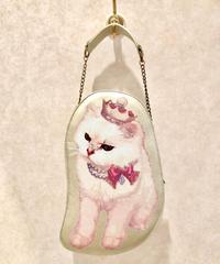Enchantlic EnchantilIy/アンシャンテリックアンシャンテリー  Queen Catとおでかけバッグ〈ゴールド〉