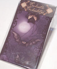 Enchantlic EnchantilIy/アンシャンテリックアンシャンテリー コウモリ公爵オーバーニーソックス(紫の夜)