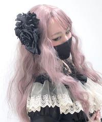 ATELIER-PIERROT/ローズブーケコサージュ(黒)