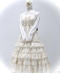 Victorian maiden/ シャーリングシフォンロングアンダードレス (生成)