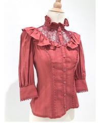 Victorian maiden/フローレンスレーシーブラウス(アップルレッド)