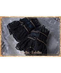 Estryllia Enhillia/♦︎受注ご予約♦︎「宿命❖挽歌」カフス(ピーコック)