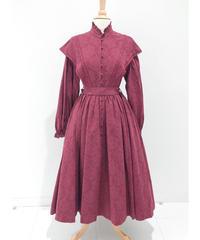 Sheglit/シェグリット Florenceレースドレス (ボルドー)