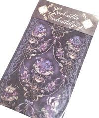 Enchantlic EnchantilIy/アンシャンテリックアンシャンテリー すみれ姫の王冠オーバーニーソックス(黒)
