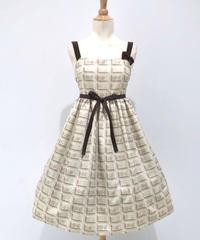Enchantlic EnchantilIy  アンシャンテリーチョコレートジャンパースカート(ホワイトチョコ)