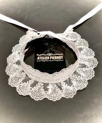 ATELIER-PIERROT/アトリエピエロ 十字架レースチョーカー(ホワイト)