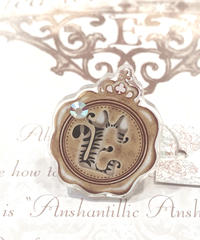 Enchantlic Enchantilly/アンシャンテリックアンシャンテリー Sealing  Cat  Ring キジトラ(Dolled up Ring)